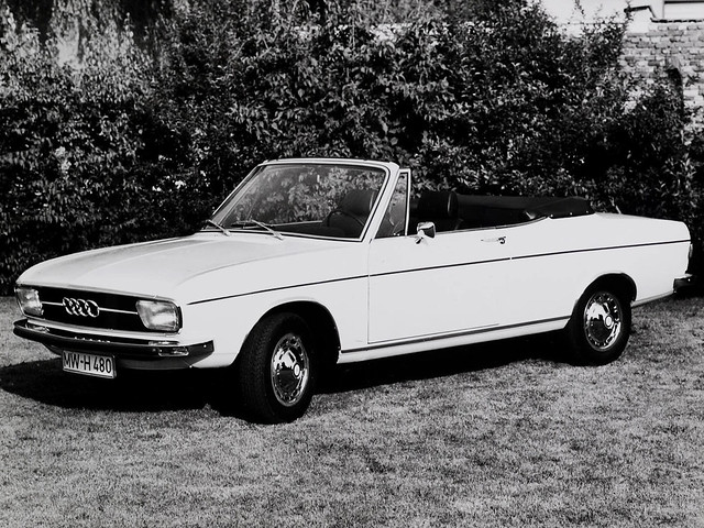 Audi 100 LS Cabriolet Prototype C1. 1969 год
