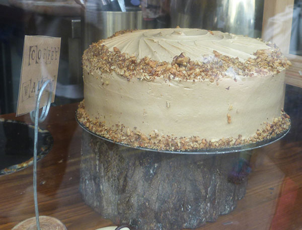 coffee and walnut