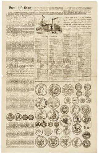 A.M Smith U.S. Coins Broadsheet side 2