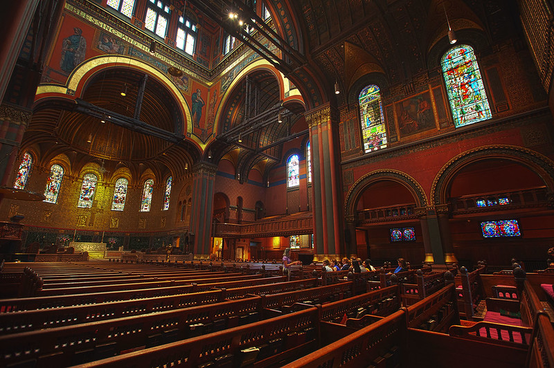 Trinity Church interior