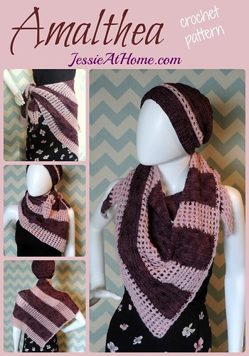 Amalthea ~ crochet set pattern by Jessie At Home