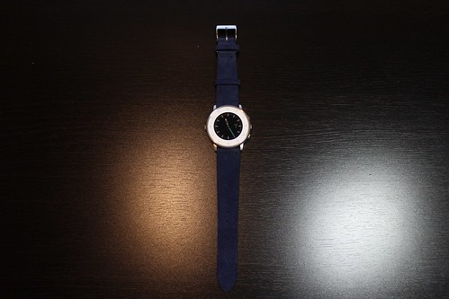 Pebble Time Round Blue Band