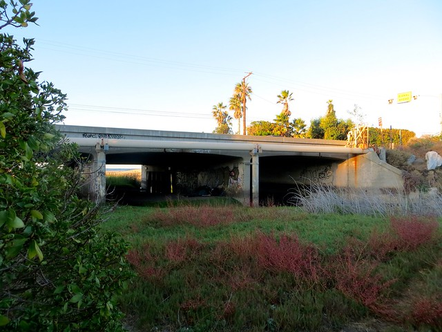 the trancas creek overpass