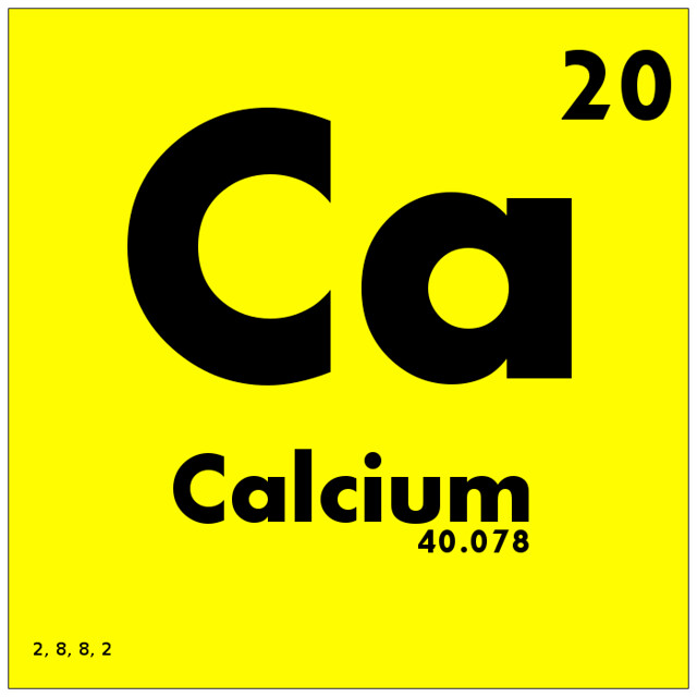 020 Calcium - Periodic Table of Elements from Flickr via Wylio