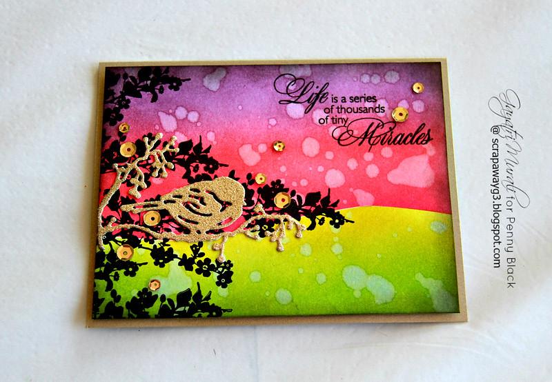 Life Miracles card flat