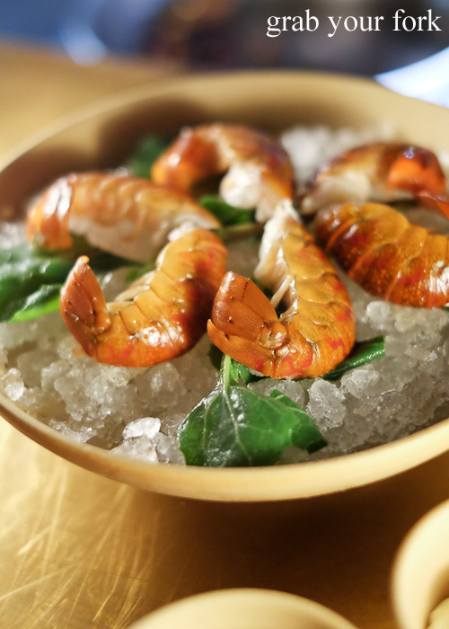 Red claw yabbies at Bennelong Restaurant, Sydney food blog restaurant review