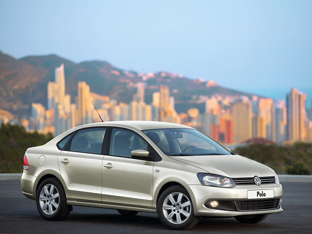 Volkswagen Polo Sedan (Typ 6R). 2010 – 2015 годы