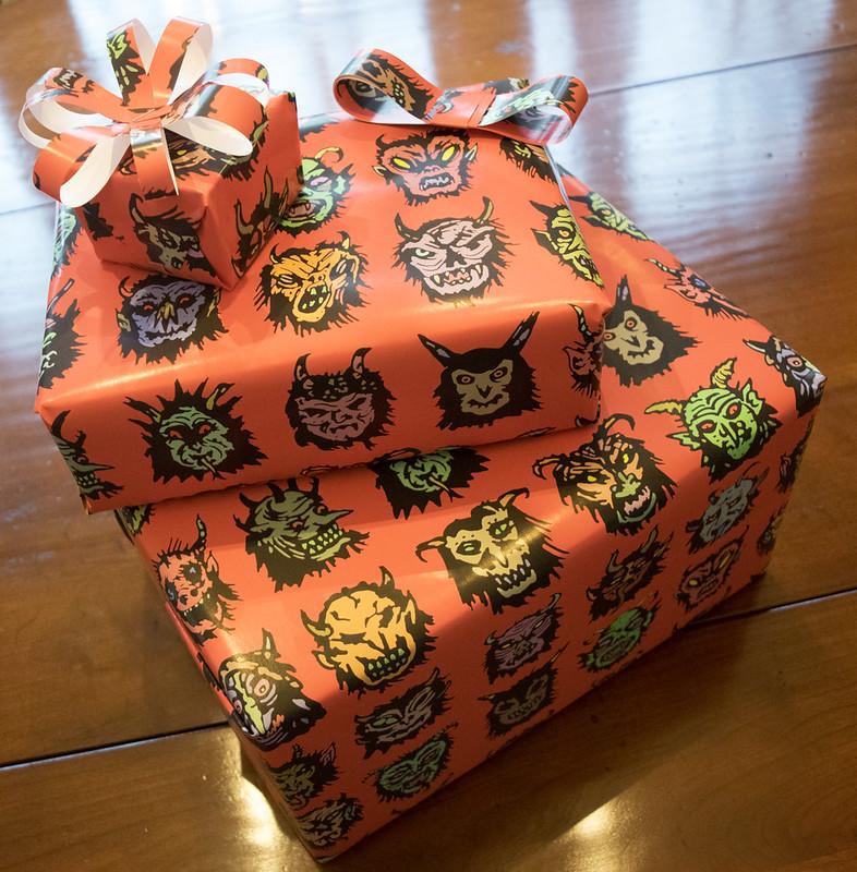 Aeron Alfrey - Krampus Gift Wrap 2