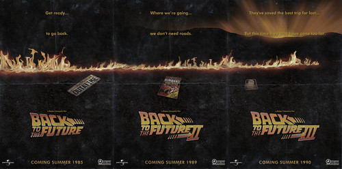 Back to the Future - Trilogy Poster 1