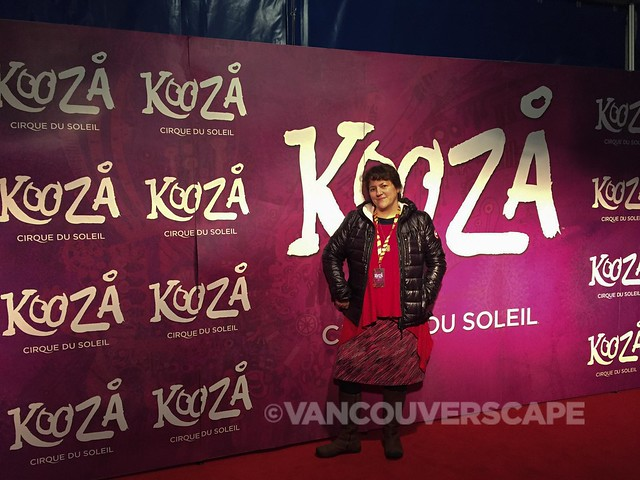 KOOZA VIP Rouge tent