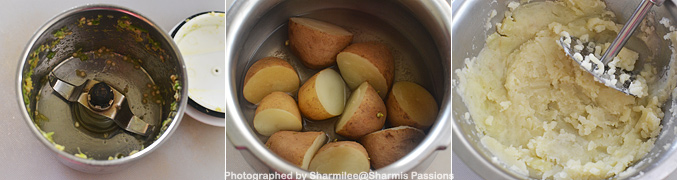How to make Ragda Patties Recipe - Step1