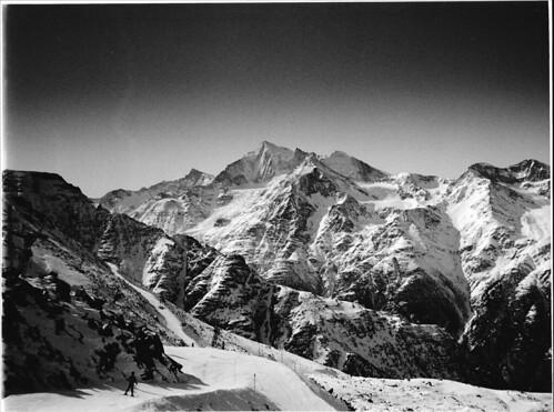 1991 zermatt ski panorama