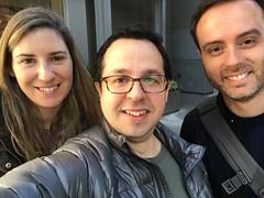 Ruth, Fede y Sergio