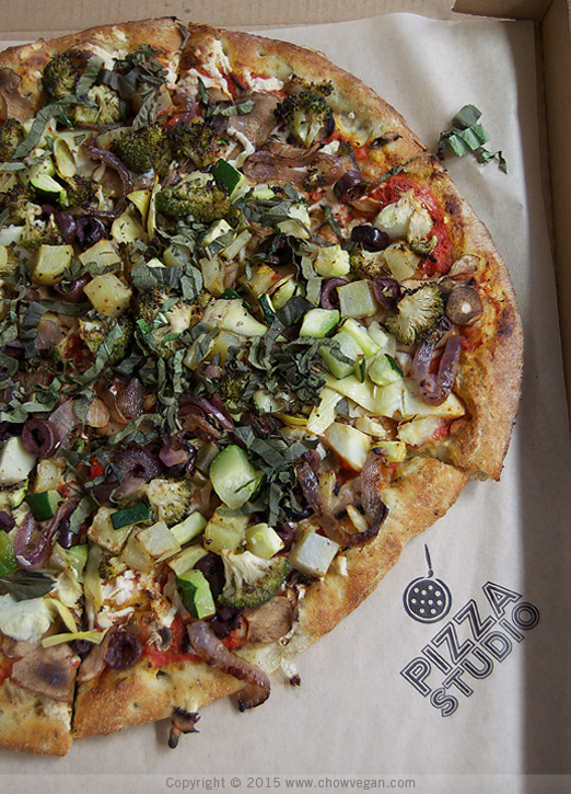 Pizza Studio Vegan Pizza