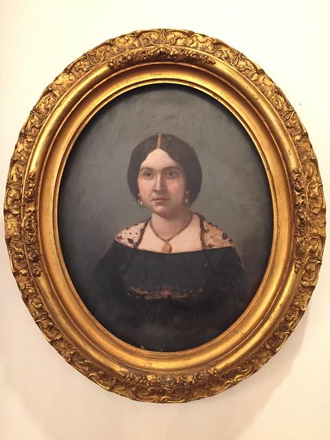 Austin: Neill-Cochran House Museum - Portrait of Fannie Miller