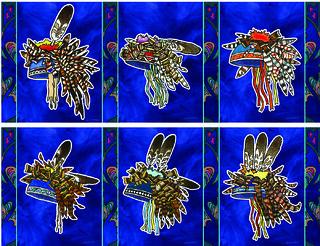Mon, 10/31/2016 - 16:47 - Native American artwork by Carson Waterman