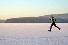 V únoru se bude konat druhý ročník Lipno Ice Marathonu