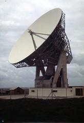Goonhilly Satellite Earth Station is a large radiocommunication site located on Goonhilly Downs near Helston on the Lizard peninsula in Cornwall, England, UK. Wikipedia Address: Helston TR12 6LQ, UK