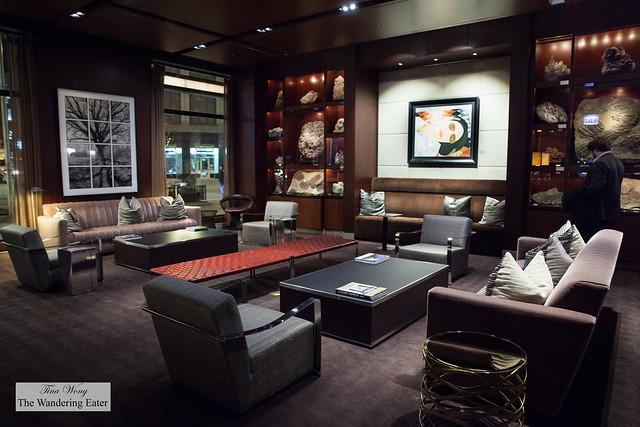 Lobby of Park Hyatt