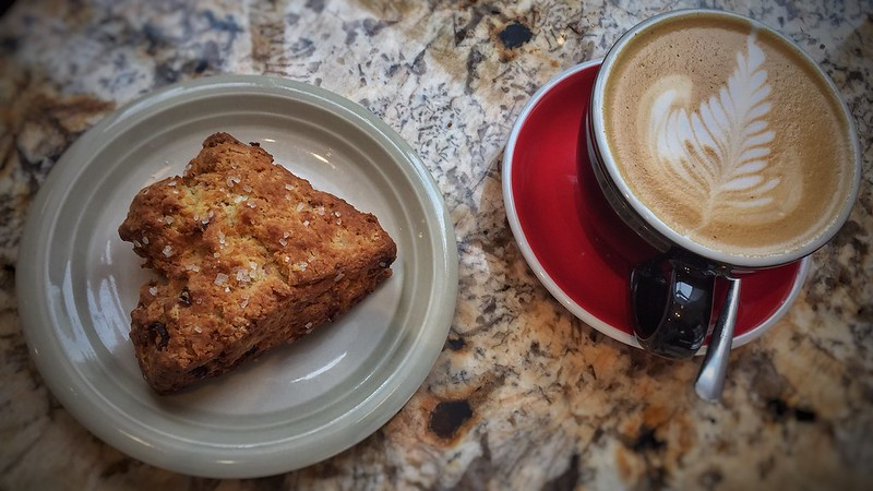 Best Scone and Cappuccino Ever @ Melk - Montreal, Quebec
