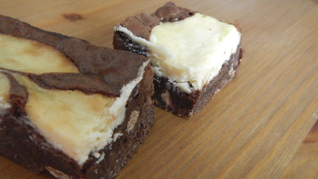 Cheesecake Swirl Brownies 18
