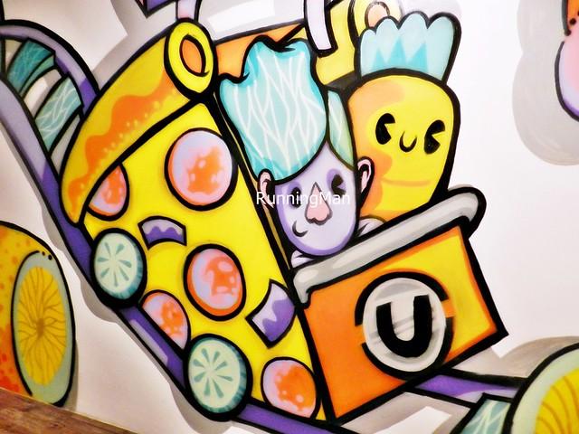 U Hotel 08 - Twist Of Life Wall Mural By Jin Xin & Lin-Hui