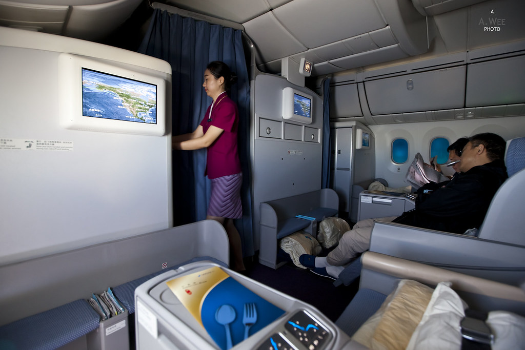 Business Class Cabin from 11A