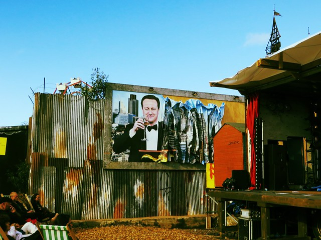 david cameron, dismaland, banksy, weston super mare