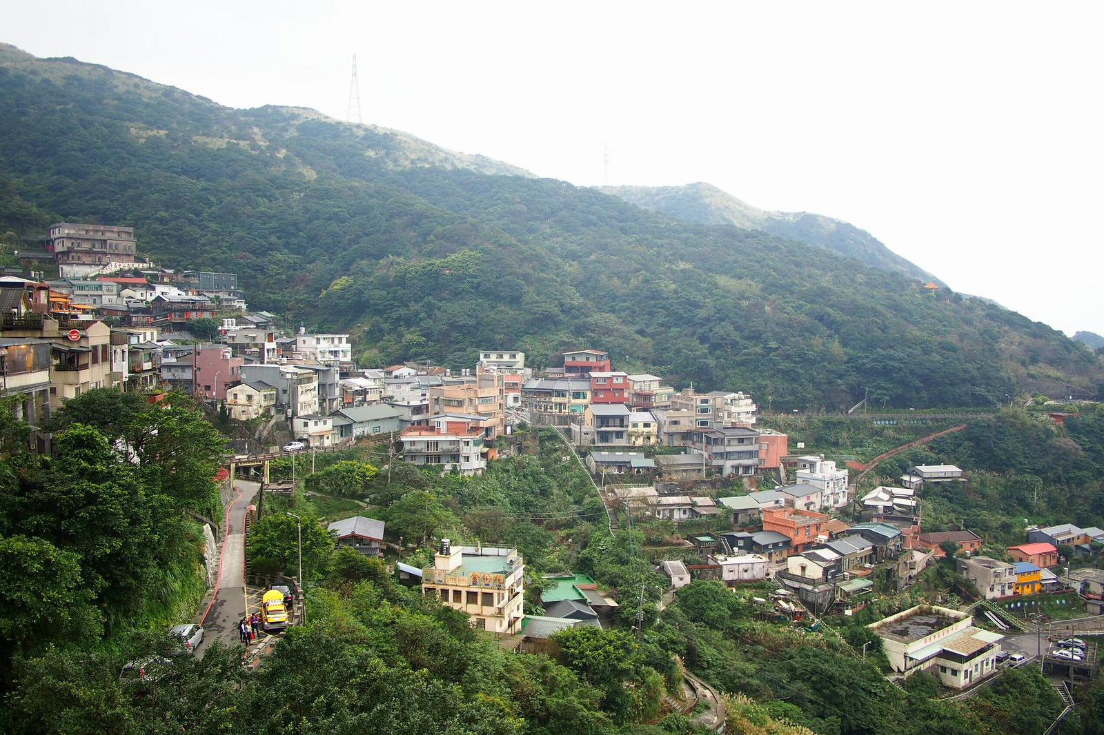 View of Jiufen from the viewpoint
