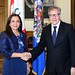 Secretary General Meets with Vice President of Peru