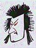 Punk Samurai, heavily processed by sjrankin