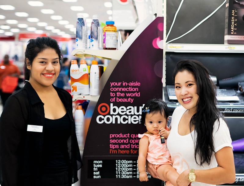 cute & little blog | target beauty concierge