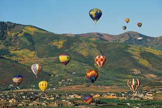 Autumn Aloft Hot Air Balloon Festival (Photo: PC Mark Prothro)