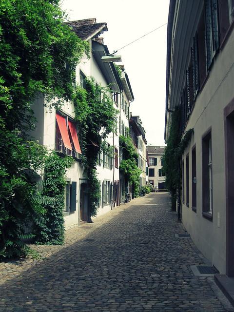Stiftsgasse, Basel, CH