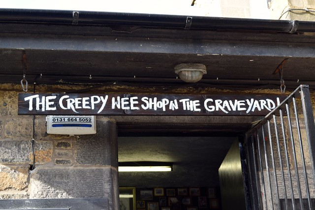 Creepy Shop In Greyfriars, Edinburgh | www.rachelphipps.com @rachelphipps