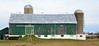 Green barn, grey winter sky - Caledon, Peel Region, Ontario by edk7