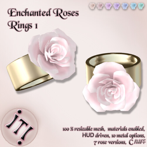 !IT! - Enchanted Roses Rings 1 Image