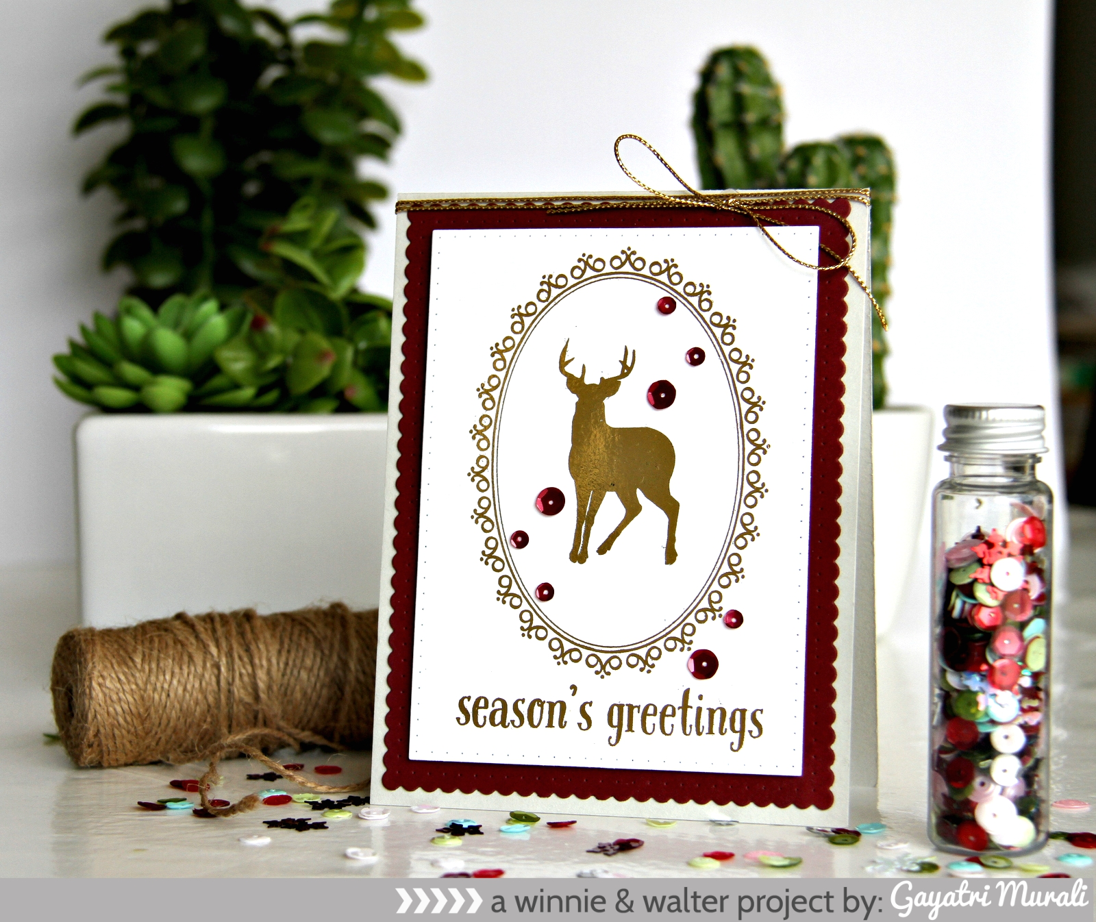 Season's Greeting card