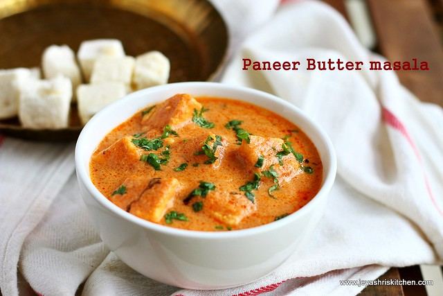 Paneer butter masala no onion no garlic recipe jeyashris kitchen paneer butter masala forumfinder Choice Image