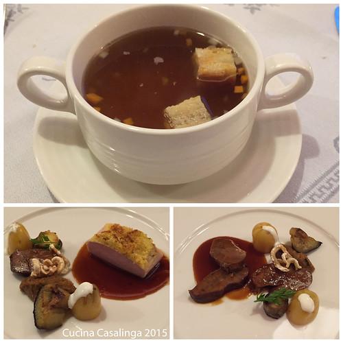 Interalpen Essen Abend eins Teil zwei