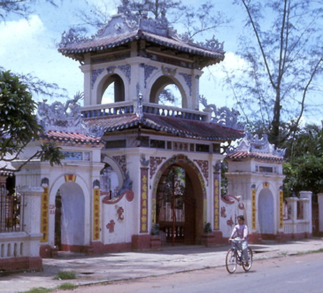 Buddhist temple, Phu Cuong City 1968