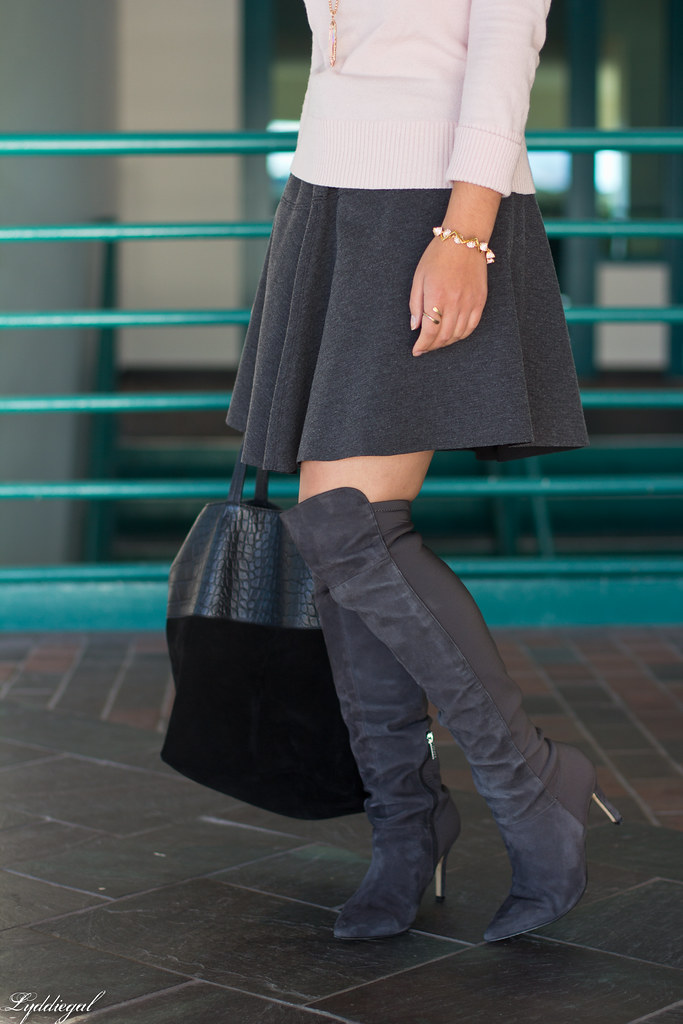 pink sweater, grey skirt, over the knee boots-9.jpg