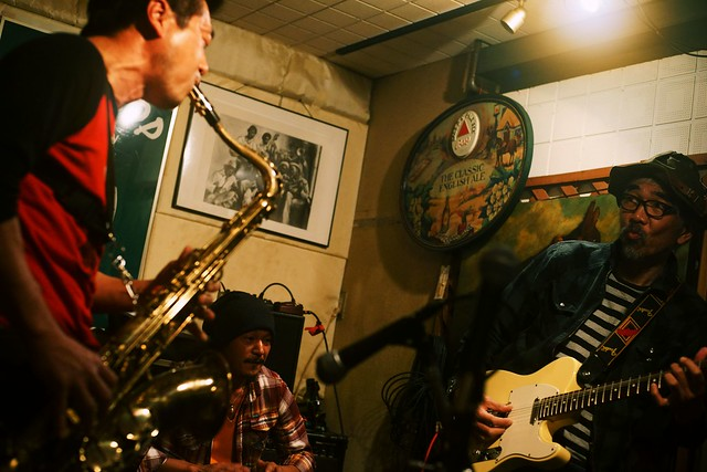 """improvisation lagoon"" at Crop Crop, Tokyo, 06 Nov 2015. 110-c25"