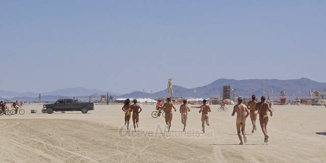 naturist gymnasium 0016 Burning Man 2015, Black Rock City, Nevada, USA