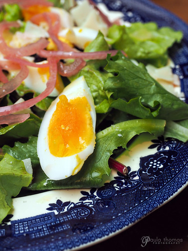 Egg Topped Salad