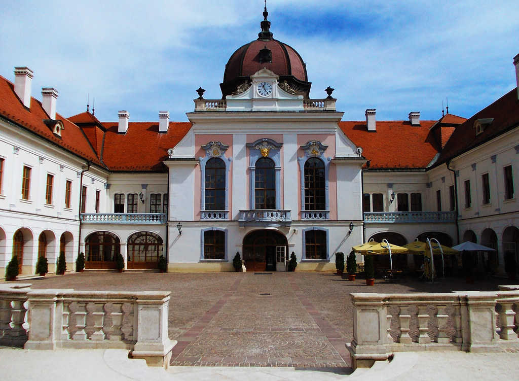 Castles in Hungary: Royal Palace Of Gödöllő, Hungary