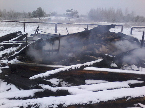 Спалив будинок тещі