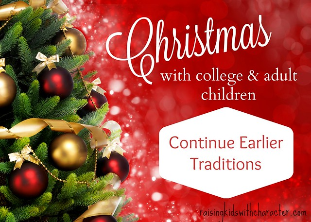 Christmas With College & Adult Children: Continue Earlier Traditions