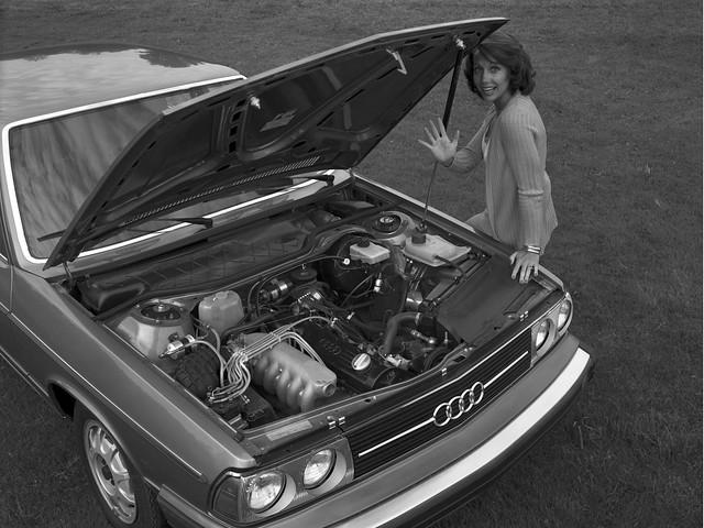 Двигатель Audi 5000. 1978 – 1980 годы