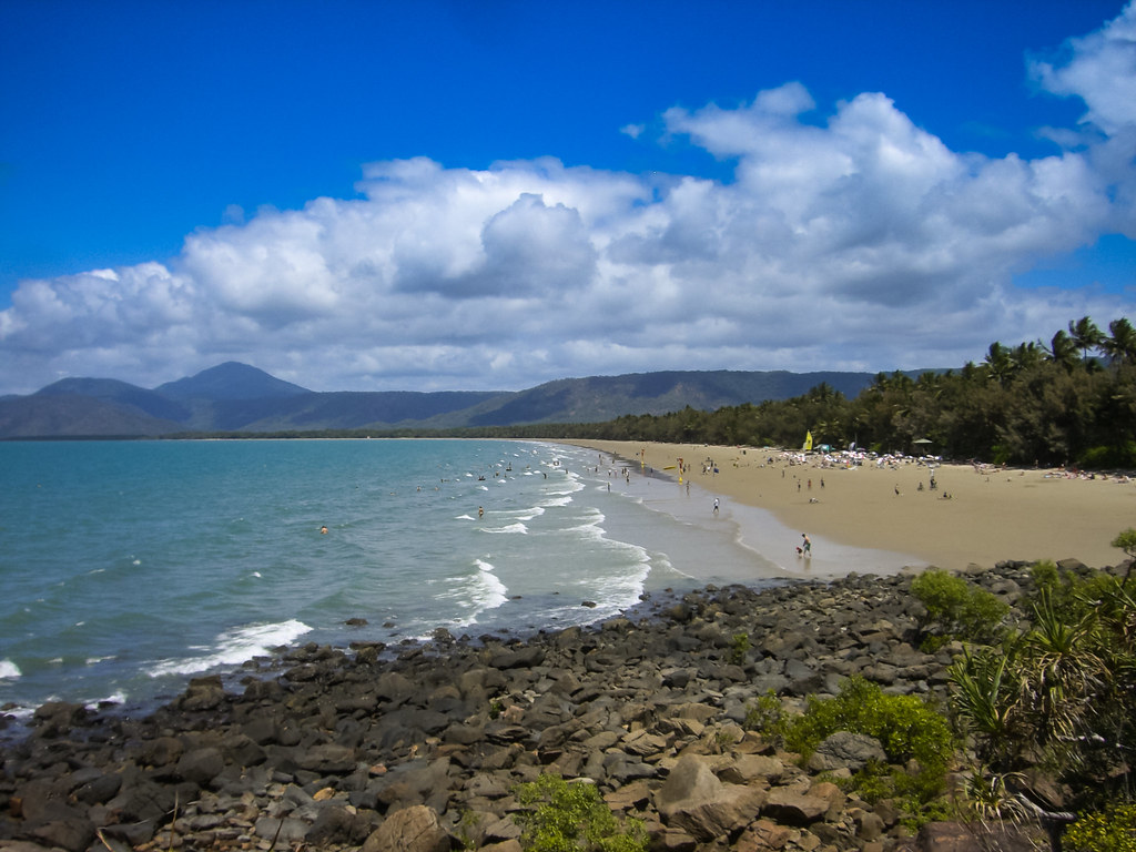 Four Mile beach Port Douglas Autralia